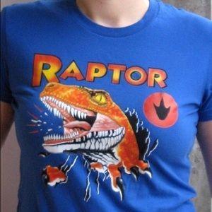 👨🏼🎤 American Apparel Raptor Tee
